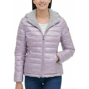 NEW Andrew Marc Reversible Puffer Jacket Coat